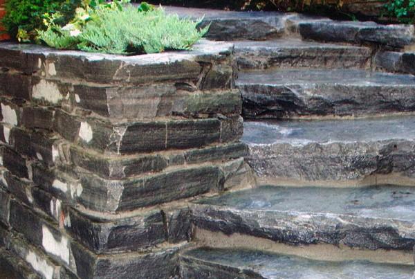 Mur pavé-uni paysagiste