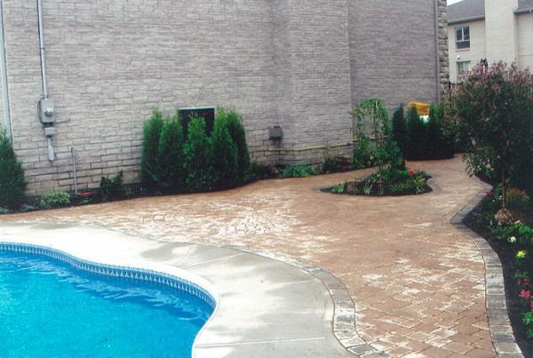 Pavé-Uni piscine paysagiste