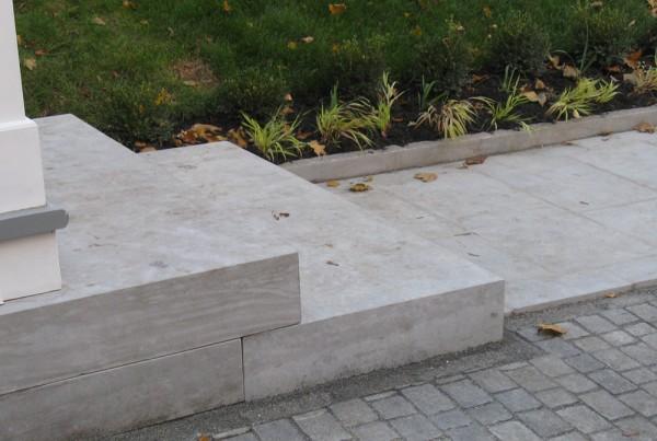 Pavé-Uni éscalier extérieur Caucci