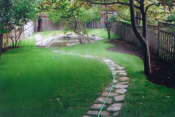 Pavé-Uni pelouse paysagiste